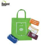 印刷を用いる昇進のFoldable再使用可能な非編まれた袋