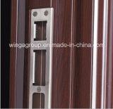 Porte en acier extérieure de fer bon des prix en métal de garantie (W-S-112)