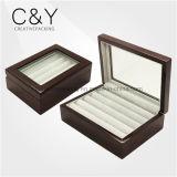 Оптовые деревянные ювелирные изделия звенят коробка хранения