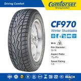 Neumáticos del invierno de la polimerización en cadena, neumático de nieve