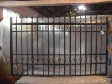 上の販売の耐久の庭の塀の裏庭の塀の錬鉄の塀