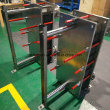 上海の衛生ステンレス鋼AISI304/AISI316LフレームおよびGasketedの版の熱交換器