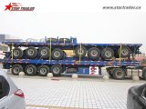 20FT 40FTの輸送容器の平面のトレーラー