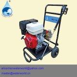 Máquina de alta presión de la limpieza del tubo de la alcantarilla del producto de limpieza de discos del motor diesel