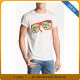 カスタム大人の綿の不足分の袖スクリーンの印刷のTシャツ