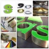 Un grand nombre de bobines en aluminium de couleur pour le canal de produit une lettre de la machine de cintrage