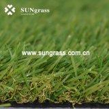 35 millimètres de jardin de loisirs d'herbe de aménagement à haute densité d'article truqué (SUNQ-AL00082)