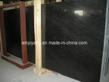 Черное Wood Grainy Marble Slab для Countertop, Walling, Flooring