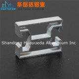 Profil en aluminium anodisé d'extrusion en aluminium pour le guichet et la porte