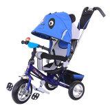 Голубой цвет ягнится трицикл 3 колес с сертификатом Ce