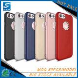 Caisse de luxe molle de téléphone de protection de mode de TPU pour l'iPhone 7