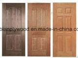 Piel de chapa de madera HDF moldeado puerta