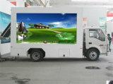 P6 P10를 가진 표시판 트럭을 광고하는 직업적인 공급 이동할 수 있는 외부 문 LED