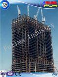 Edificio alto Pre-Dirigido de la estructura de acero (FLM-026)