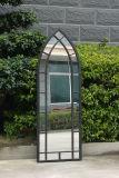 環境に優しい2017最も新しく一義的で安いハングの装飾的な金属のガラス壁ミラー(PL08-33343)