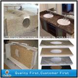 искусственние белые верхние части тщеты Countertops ванной комнаты камня кварца