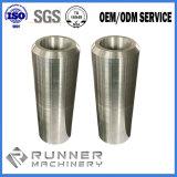 Peças fazendo à máquina de trituração de batida do CNC da perfuração de aço de alumínio do ODM do OEM
