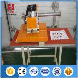 Machine d'impression pneumatique de transfert thermique de double position