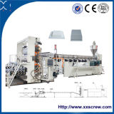 Le WPC machine/machine à carton mousse PVC/extrudeuse