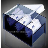 Carte d'affaires en acrylique Boîte de rangement (BTR-H5002)