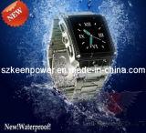 Imperméables Watch caméra en acier inoxydable de téléphone mobile