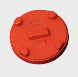 Iron étirable Cap FM/UL Approved (ajustage de précision de pipe grooved)