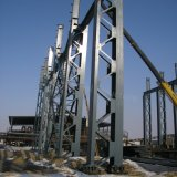 高層ビルのための金属の格子構造
