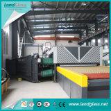 Landglass vidrio templado de vidrio plano de la máquina maquinaria en China