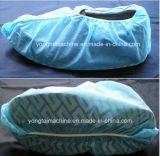Cubierta no tejida disponible quirúrgica del zapato que hace la máquina
