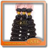 6A Grade Peruvian Human Hair per le donne di colore