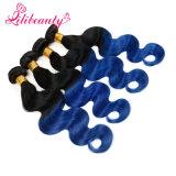 Venda por grosso de dois tons coloridos Ombre Malaysian Remy Hair