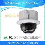 Dahua 2MP 30X de red domo PTZ Starlight cámara CCTV (SD52C230U-HNI)