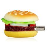 선전용 고전적인 햄버거 USB 섬광 드라이브