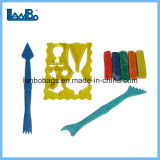 Kind-bester Verkaufs-kundenspezifisches Plastikfarben-Lehm-Form-Spielzeug