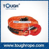 Handkurbel für Boat Trailer Dyneema Synthetic 4X4 Winch Rope mit Hook Thimble Sleeve Packed als Full Set