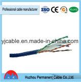 Rame del calibro del cavo 24 della rete di UTP CAT6 4 accoppiamenti di categoria 6 della rete RJ45 del cavo RJ45 di zona del cavo del cavo