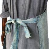 Наилучшим образом произведенная рисберма джинсовой ткани парикмахера типа сбор винограда повелительниц