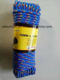 ハンクのポリエステル編みこみのロープ