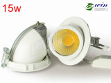LED rotativo Downlight en el alto brillo 130lm/W de 10W 15W 26W