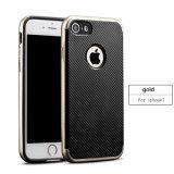 Cassa del telefono delle cellule della fibra 2in1 del carbonio della cassa del cellulare ultima per il iPhone 7