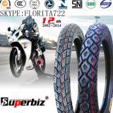 17 pouces nouveaux OEM 6pr de la courroie de nylon des pneus diagonaux de la neige de caoutchouc naturel de la boue Pattern de basse pression des pneus de moto (3.00-17/ 3.00-18) avec l'ISO