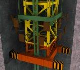 内部の上昇のタワークレーン(3ton-25トン)