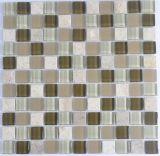 Mosaico de cristal para la decoración de la pared