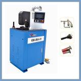 Machine de serrage à manivelle hydraulique latérale à l'aide de serrures à air comprimé