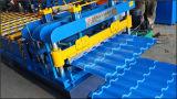 Formato de bambu Telha Máquinas de fabrico de chapa metálica