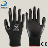 les nitriles de l'interpréteur de commandes interactif 13gauge ont enduit les gants de travail de sûreté (N6002)