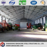 Sinoacmeの鋼板の屋根ライト鉄骨構造の倉庫