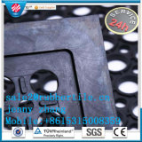 Блокируя циновка отверстия Anti-Fatigue Легк-Шага резиновый, половой коврик резины кухни