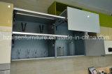 Armário linear do gabinete de cozinha da laca do sócio da vida