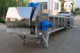 Revestimientos en polvo de la banda de acero inoxidable automático de la trituradora de refrigeración
